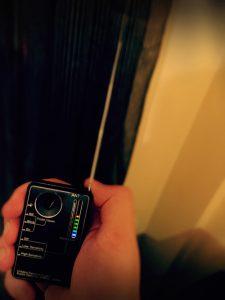 Detección de cámaras y micrófonos